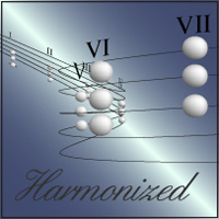 The Harmonized Major Scale